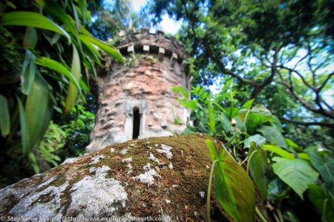 Old castle ruins Parque Nacional da Tijuca Rio de Janeiro Brazil Adventure Travel south america