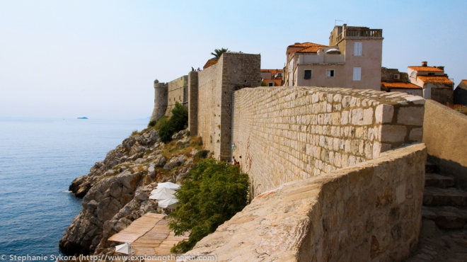 Dubrovnik Croatia Walls seaside Ocean Mediterranean Seaside red roofs Old Town Travel Culture Adventure Europe