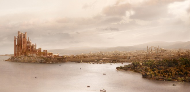 Concept art for the city of King's Landing in A Song of Fire and Ice Game of Thrones Dubrovnik Croatia Europe Movie Filming Location Travel