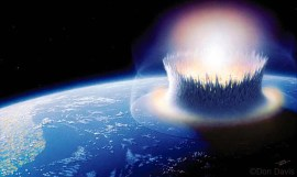 asteroid impact earth injecting