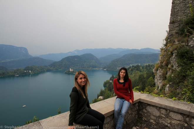 Slovenia Europe Lake Bled Castle Swam Lake Church Cliff Travel Culture Adventure
