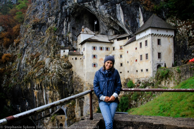 Predjama Medieval Castle Cave in Postojna Slovenia Europe Cliff Travel Culture Adventure