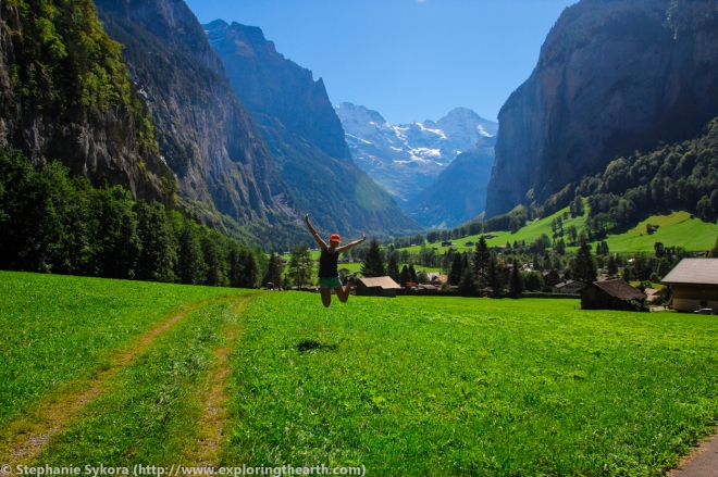 U-shaped Valley, Lauterbrunnen, Glacier, Processes, Carving, Formation, Switzerland, Geology, example, Travel, Adventure, Earth Science, Photography