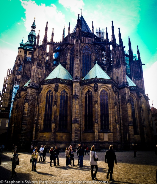 St. Vitus Cathedral, Prague Castle, Castle, Prague, Czech Republic, Europe, Eastern Europe, Baroque, Gothic