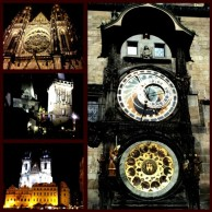 Prague, Travel, Instagram, Czech Republic, Europe, Eastern europe, night, cathedral