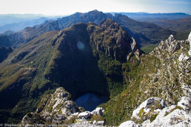 Frenchman's Cap in the Franklin-Gordon Wild Rivers National Park - Tasmania, Australia, Glaciation, Glacier, Valley